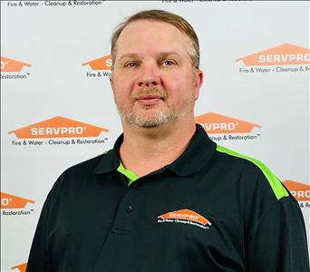 male, hat, serious, SERVPRO background