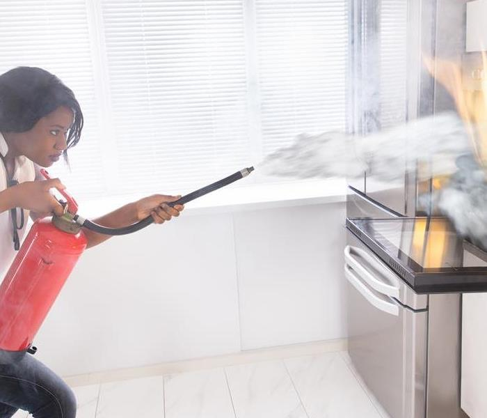 Fire Damage Kitchen Safety: Don't get distracted!