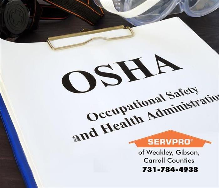 Fire Damage OSHA Guidelines, Fire Ext., Commercial