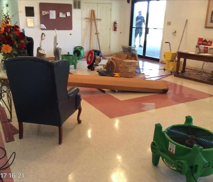 Water Damage Major Flood in Kenton Church