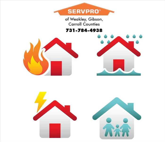 Why SERVPRO Ease you burden when disaster happens in Martin, Tennessee