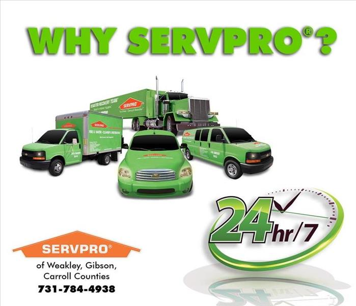 Why SERVPRO Who Should I Use in Dresden, Tennessee?